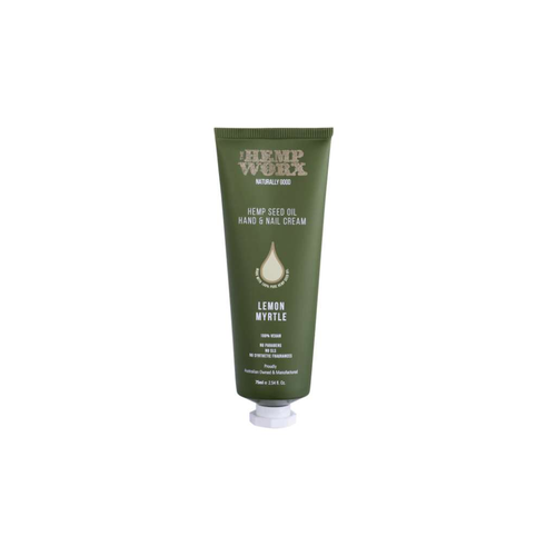The Hemp Worx Handcream Lemon Myrtle - GoodnessMe