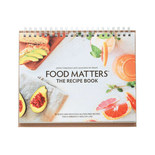 Food Matters The Recipe Book - Version 2 - GoodnessMe