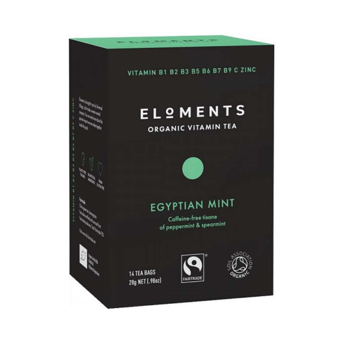 Eloments Organic Vitamin Tea Egyptian Mint 14 tea bags - GoodnessMe