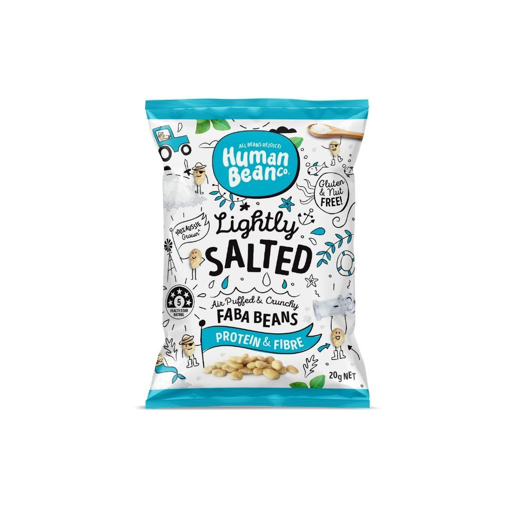 Human Bean Co Lightly Salted Faba Beans 160g