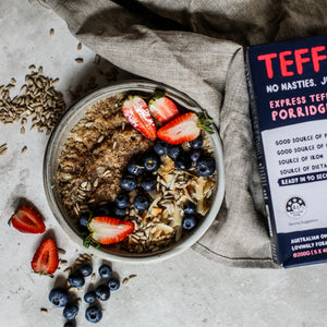 Teff Tribe - Teff Wild Berry & Coconut Porridge 200g