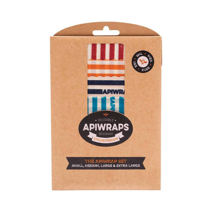 GoodnessMe Market APIWRAPS Reusable Beeswax Wraps The APIWRAP Set