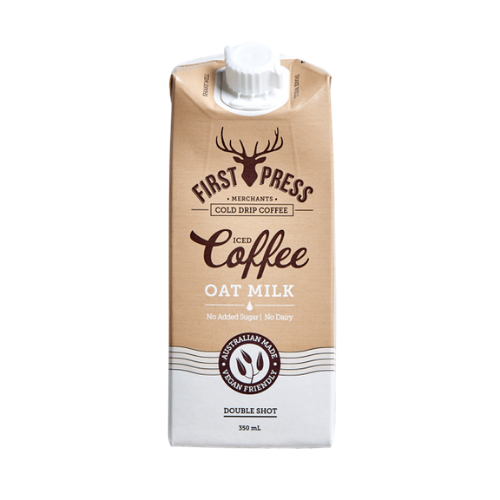 First Press Coffee Oat Milk Iced Coffee