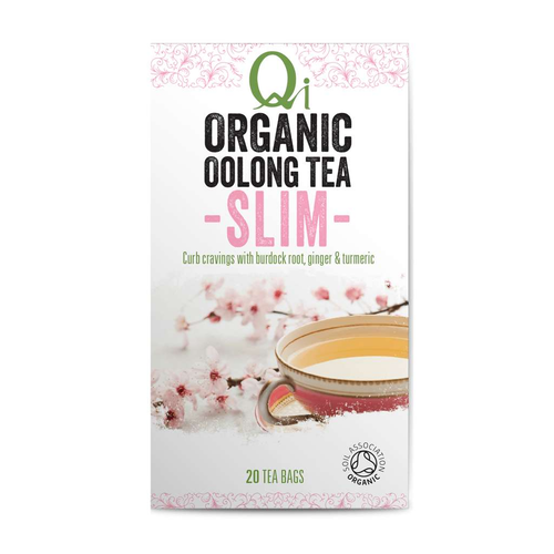 Qi Organic Oolong Tea SLIM - GoodnessMe