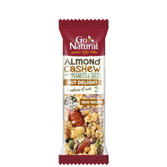 Go Natural Australia Almond Cashew with Peanuts & Seeds 45g