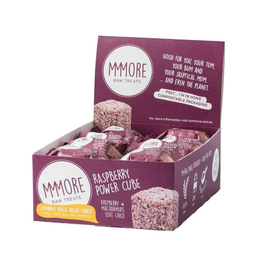 MMMore Raspberry Power Cube 16 x 37g Box