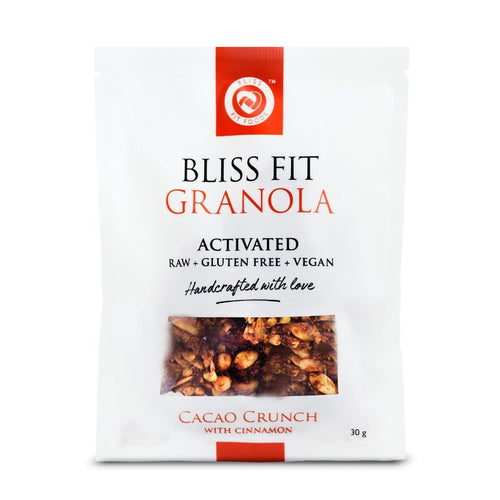 Bliss Fit Foods Activated Granola Cacao Crunch with Cinnamon - GoodnessMe