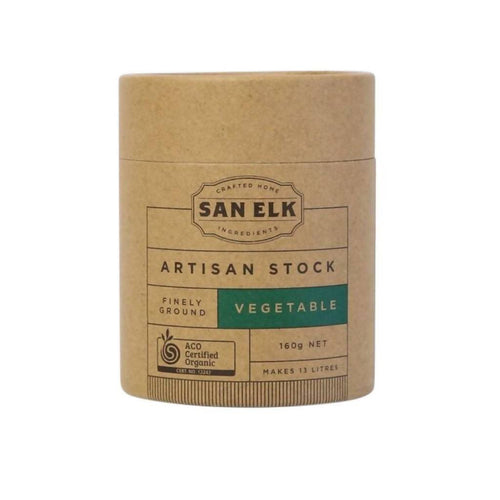 San Elk Artisan Vegetable Stock 3 x 160g
