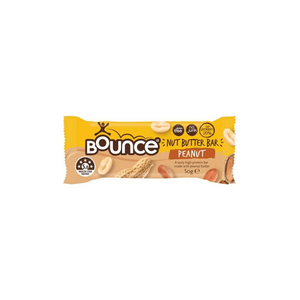 Bounce Bars Nut Butter Peanut 12x50g