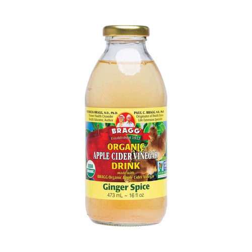 Bragg Apple Cider Vinegar Drink ACV with Ginger Spice 473ml