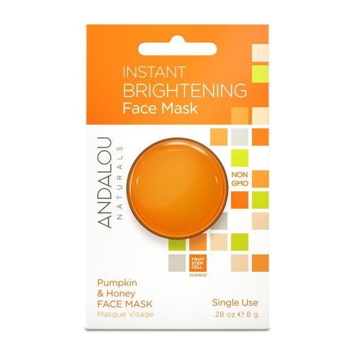 Andalou Naturals Brightening Pumpkin Honey Glycolic Mask - GoodnessMe