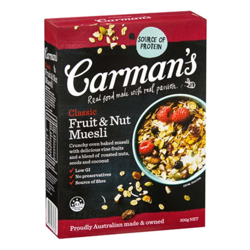 Carman's Classic Fruit & Nut Muesli 500g