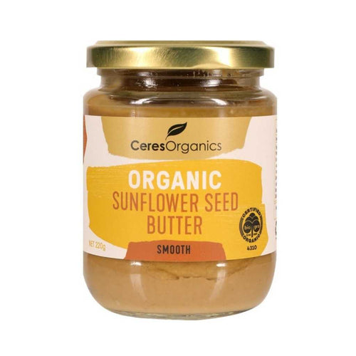 Ceres Organics Sunflower Seed Butter Smooth 220g