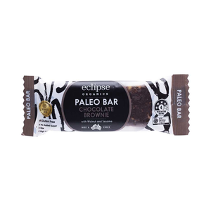 Eclipse Organics Raw Paleo Bar Chocolate Brownie 12x 45g