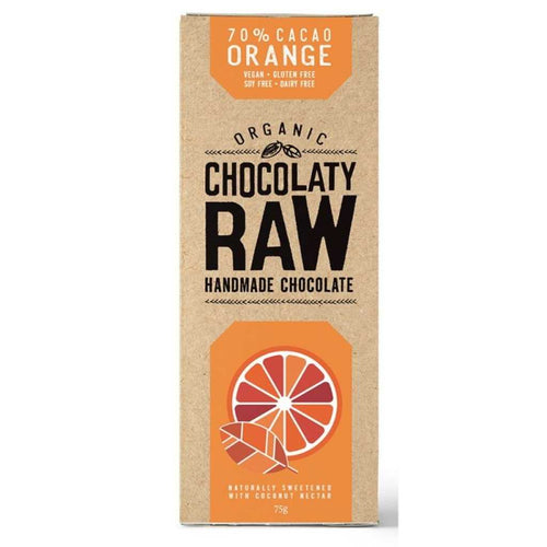Chocolaty Raw Orange 3x 75g
