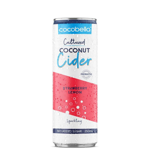 Cocobella Coconut Cultured Strawberry Lemon 250 ml