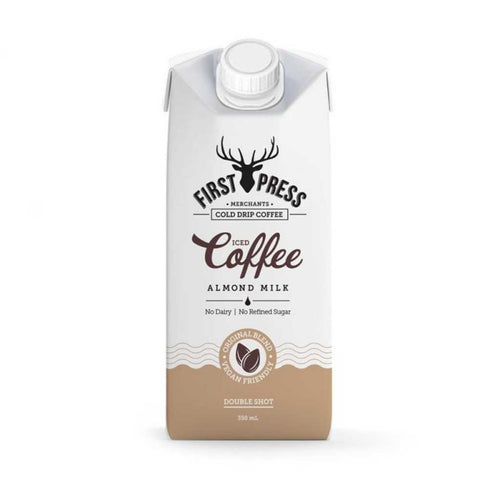 First Press Almond Milk Iced Coffee 12x 350mL