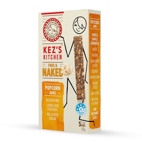Kez's Kitchen Free & Naked Popcorn Bar