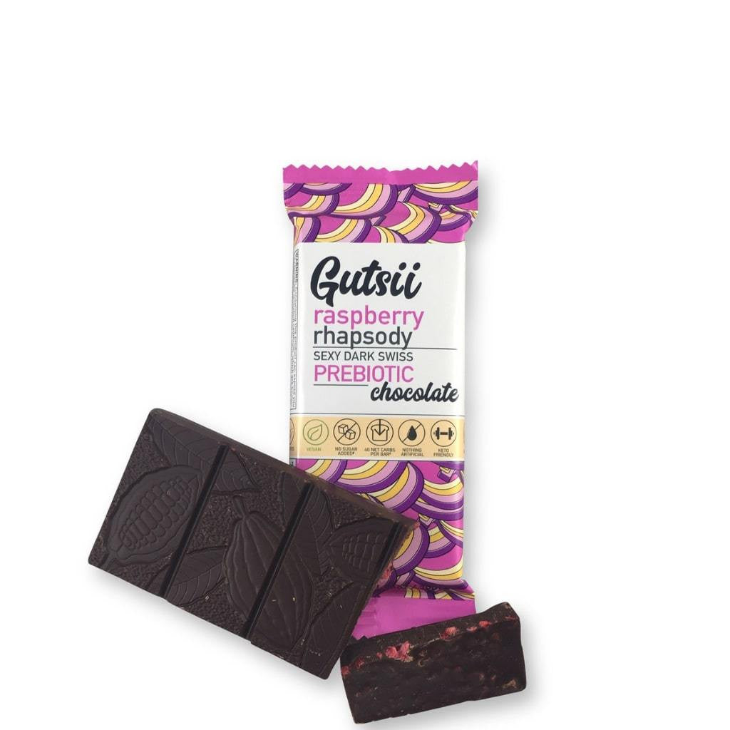 Gutsii	Prebiotic Chocolate Raspberry  32g