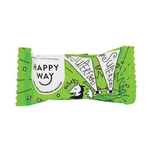 Happy Way All Natural Apple Cinnamon Snack Bar 30g