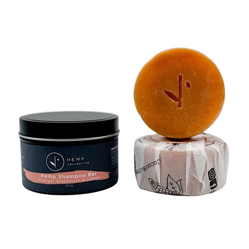 Hemp Collective Shampoo Bar Orange, Grapefruit and Lemon 100g