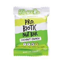 Load image into Gallery viewer, Luv & Co Pro Biotic Nut Bar Coconut Crunch 20x 35g
