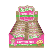 Load image into Gallery viewer, Luv Sum Protein Ball Peanut Buttery Berry 12x 42g