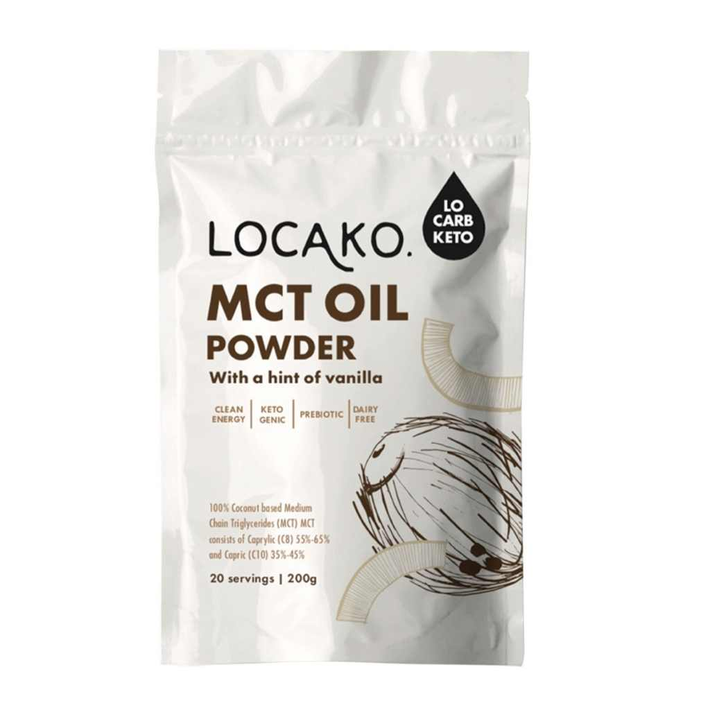 Locako MCT Oil Powder With A Hint Of Vanilla 200g