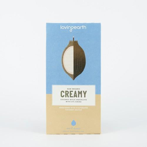 Loving Earth Creamy Coconut Mylk Chocolate 3x80g - GoodnessMe