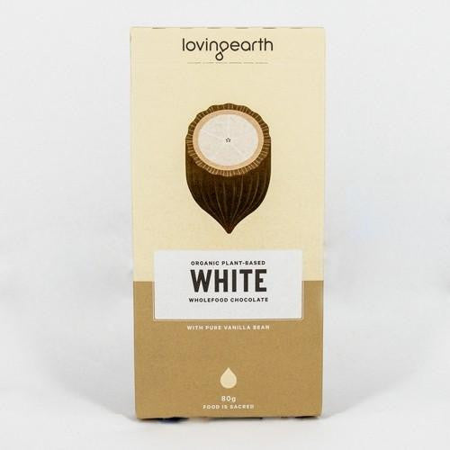 Loving Earth White Chocolate 3x80g - GoodnessMe