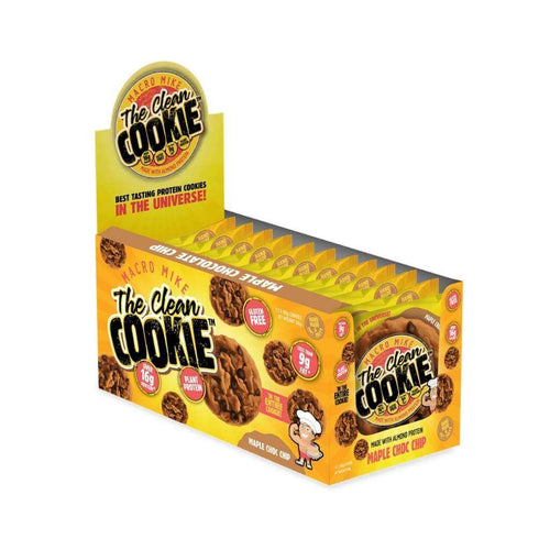 Macro Mike The Clean Cookie Choc-Chip Maple Choc Chip 12x 60g