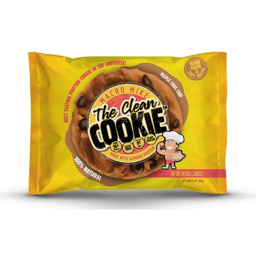 Macro Mike The Clean Cookie Maple Choc-Chip 60g
