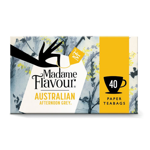 Madame Flavour Australian Afternoon Grey 1 Box x 40 tea bags