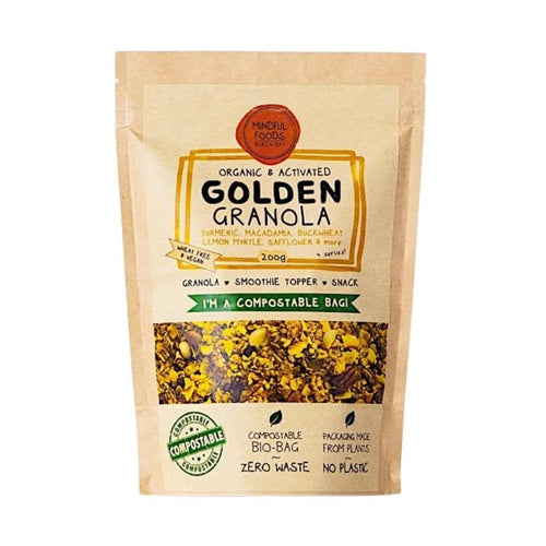 Mindful Foods Golden Granola 200g