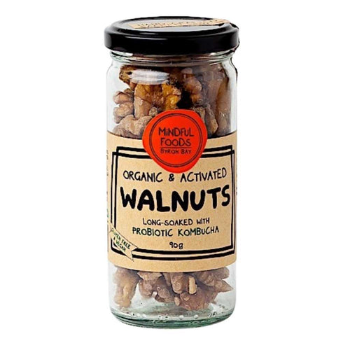 Mindful Foods Organic & Activated Nuts Walnuts 90g