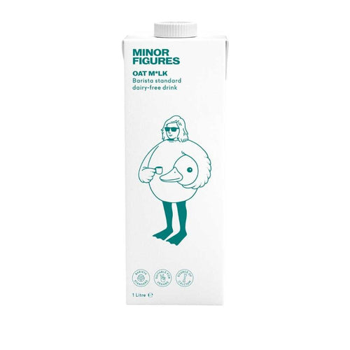 Minor Figures Oat Milk 6x 1L