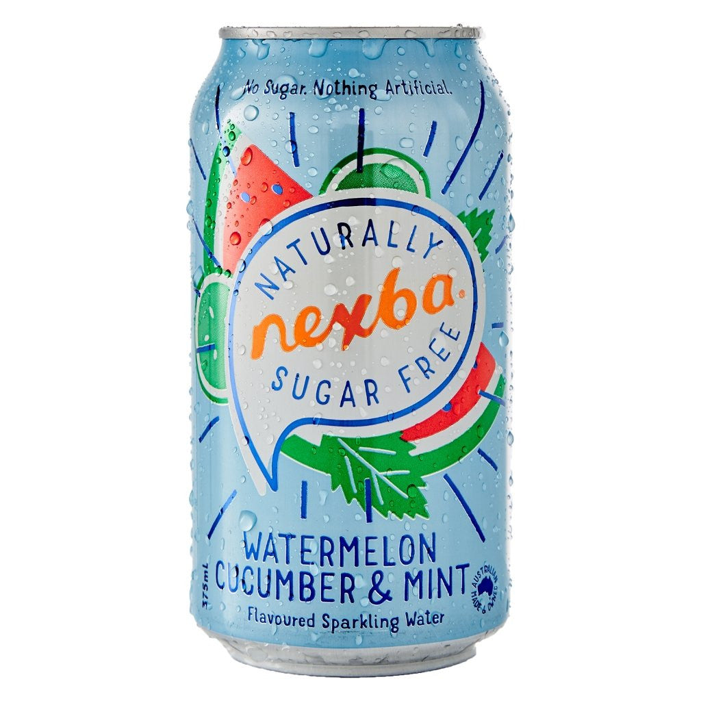 Nexba Watermelon Cucumber & Mint Sparkling Water 375ml