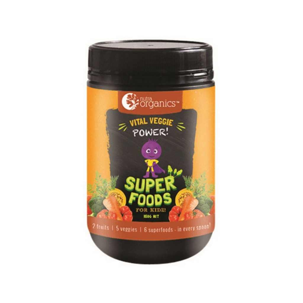 Nutra Organics Super Foods for Kidz Vital Veggie Power 150g