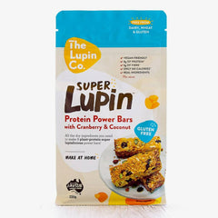 The Lupin Co 6 x Pack Bundle (Protein Power Bars & Protein Cookie Mix)