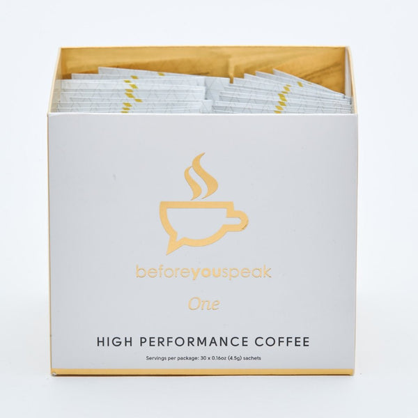 Beforeyouspeak ONE High Performance Coffee