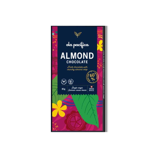 Ola Pacifica Almond Chocolate 80g