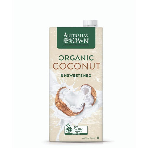 Australia's Own Unsweetened Organic Coconut Milk 1L