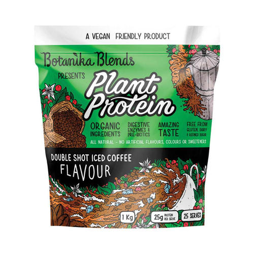 Botanika Blends Plant Protein Double Shot Iced Coffee 1kg - GoodnessMe
