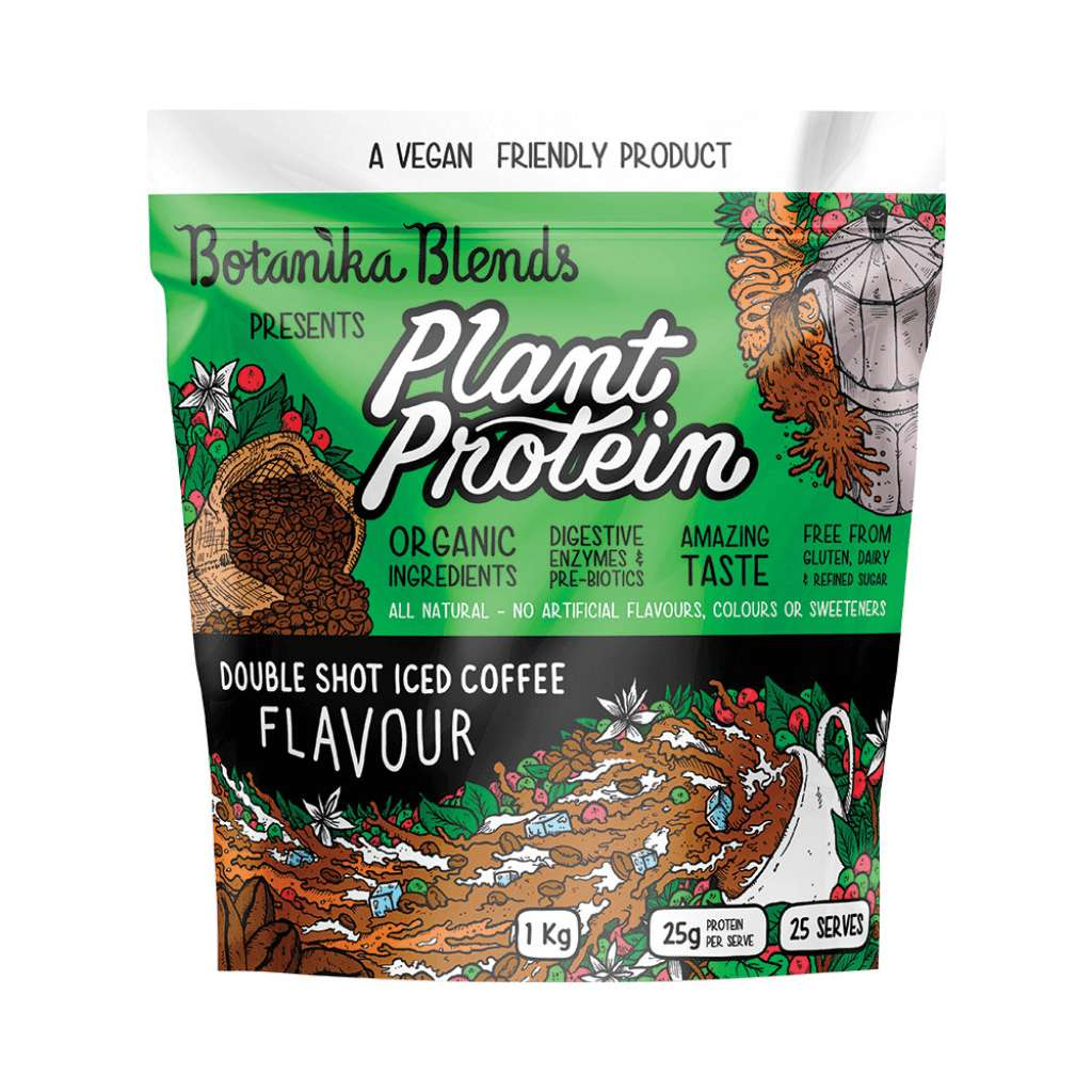 Botanika Blends Plant Protein Double Shot Iced Coffee 1kg