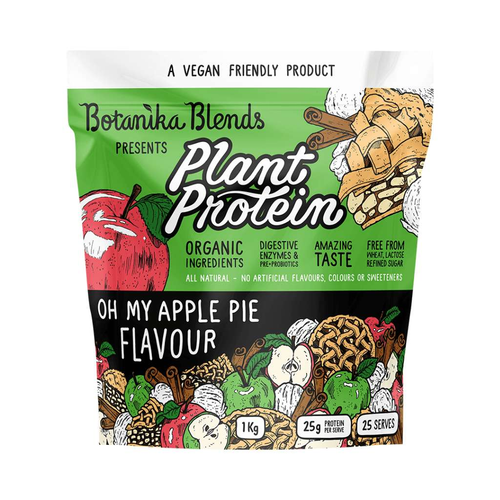 Botanika Blends Plant Protein Apple Pie 1kg - GoodnessMe