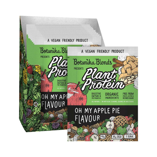 Botanika Blends Plant Protein Apple Pie 12x 40g - GoodnessMe