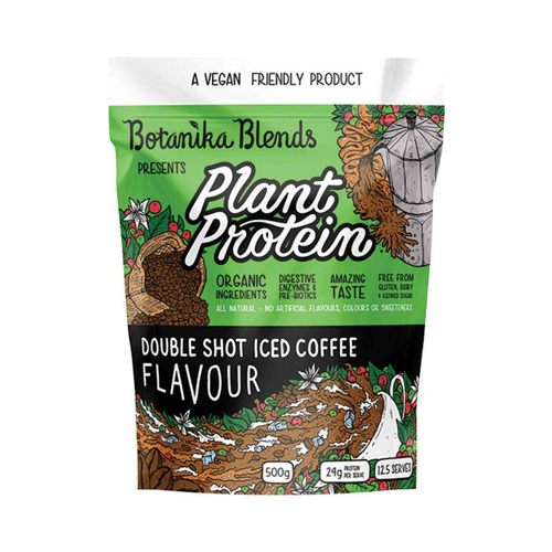Botanika Blends Plant Protein Double Shot Iced Coffee 500g - GoodnessMe