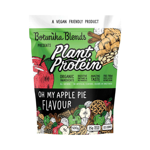 Botanika Blends Plant Protein Apple Pie 500g - GoodnessMe