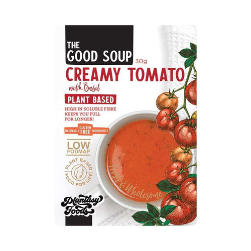 Plantasy Foods The Good Soup Creamy Tomato With Basil 30g