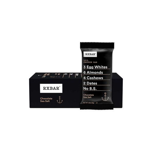 RXBAR Protein Bar Chocolate Sea Salt 12x52g